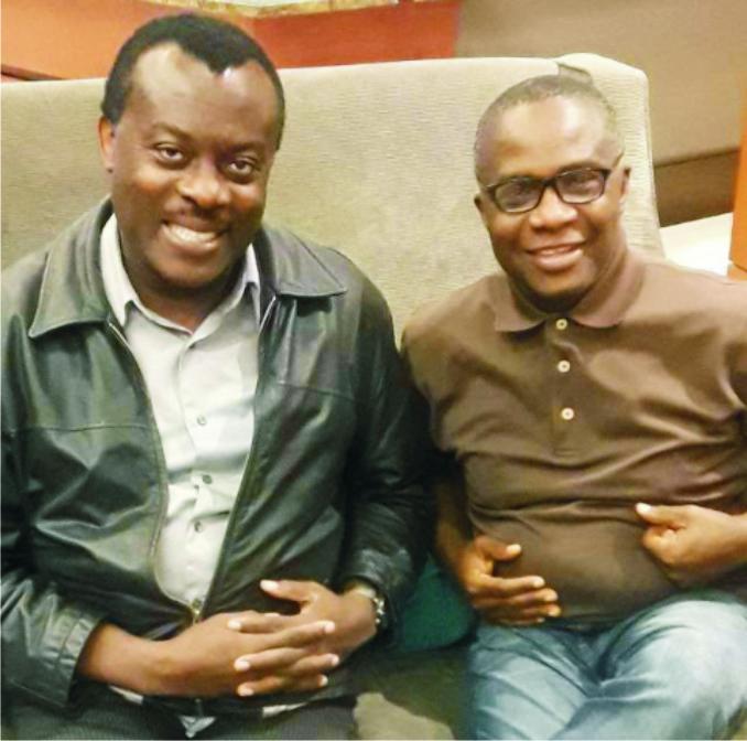 prof Ekwerike and Dr. Uzukwu