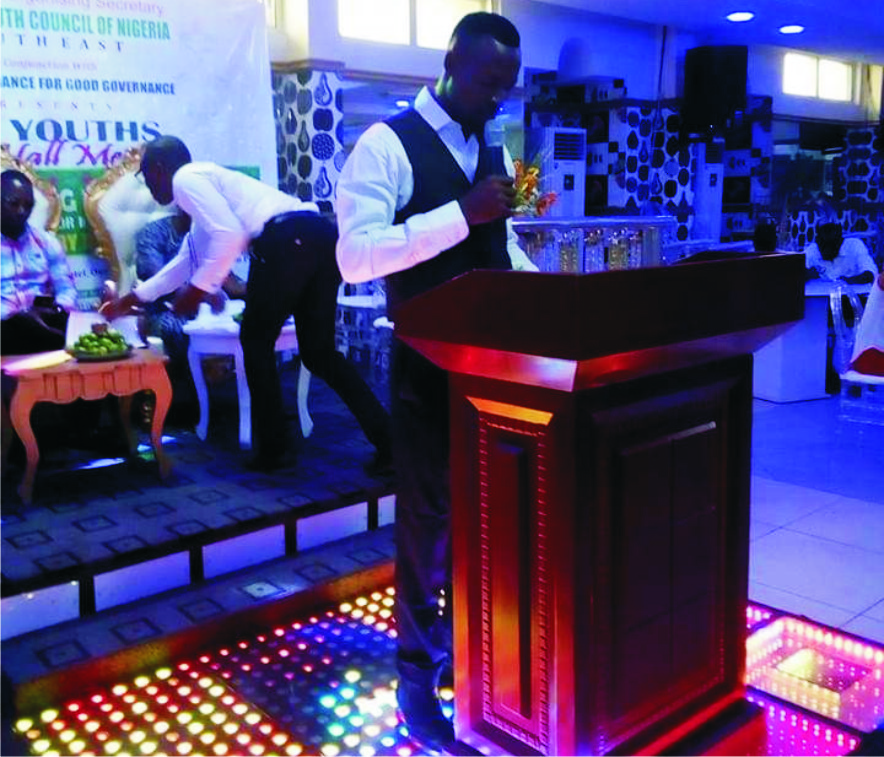 youth Town Hall Meeting:  Imo Youths Demand Inclusive Govt  .Vow to elect credible governor