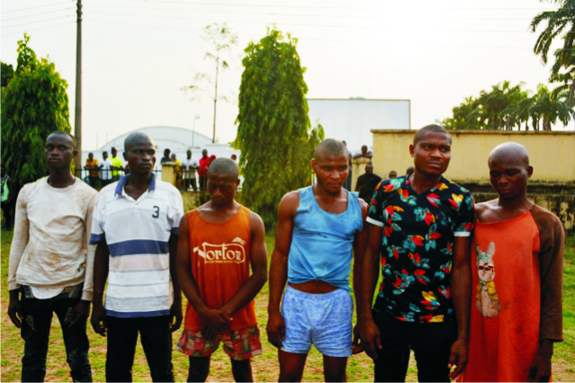 suspects in Imo